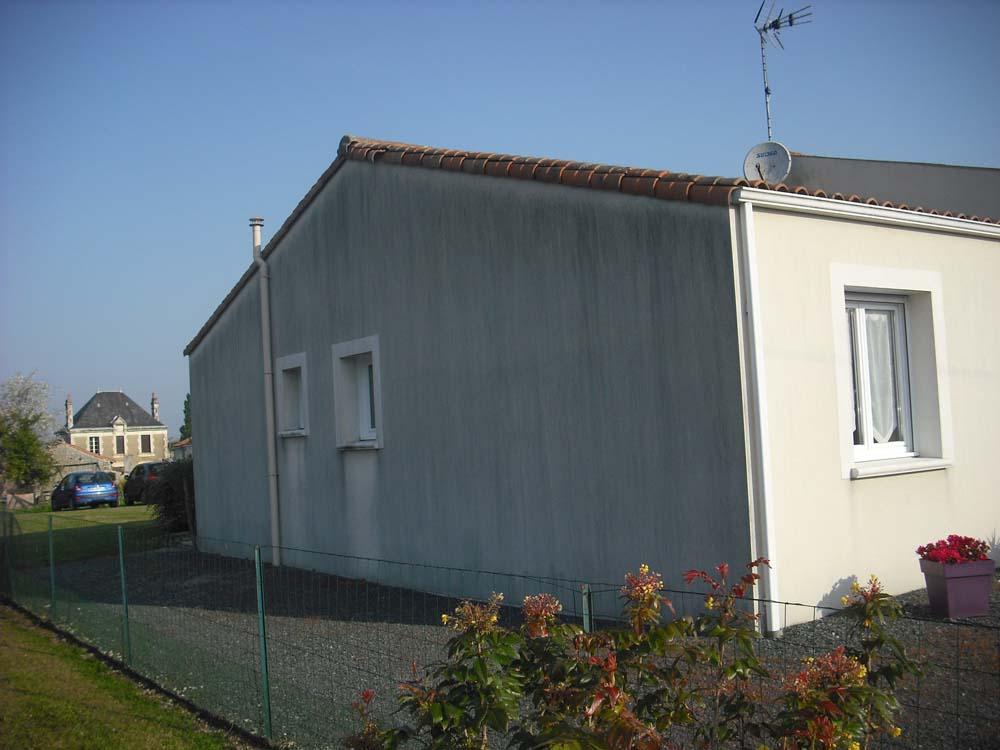 Pignon avant peinture Sud Vendée Atelier Pro Peinture