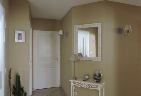Peintre décoration intérieure entrée - Atelier Pro Peinture Secteur Fontenay-le-Comte
