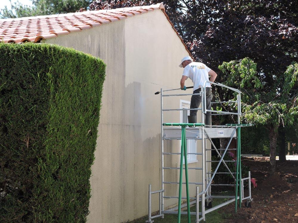 Nettoyage façade - Atelier Pro Peinture Secteur Fontenay-le-Comte