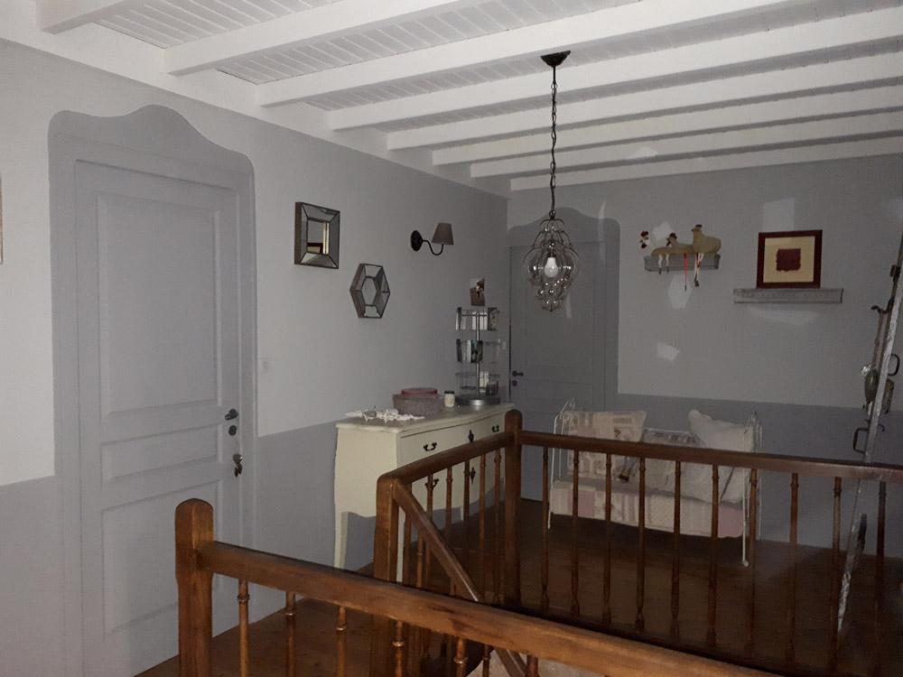Peinture mur et plafond à Fontenay-le-Comte - Peintre Atelier Pro Peinture à Pouillé